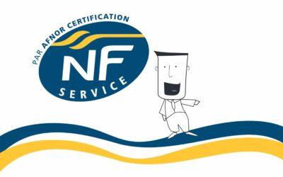 Phone-Services certifié NF Service Relation Client à Distance !