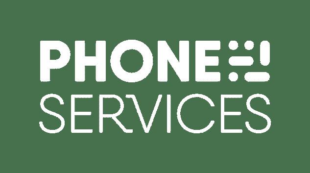 Phone Services - logo blanc